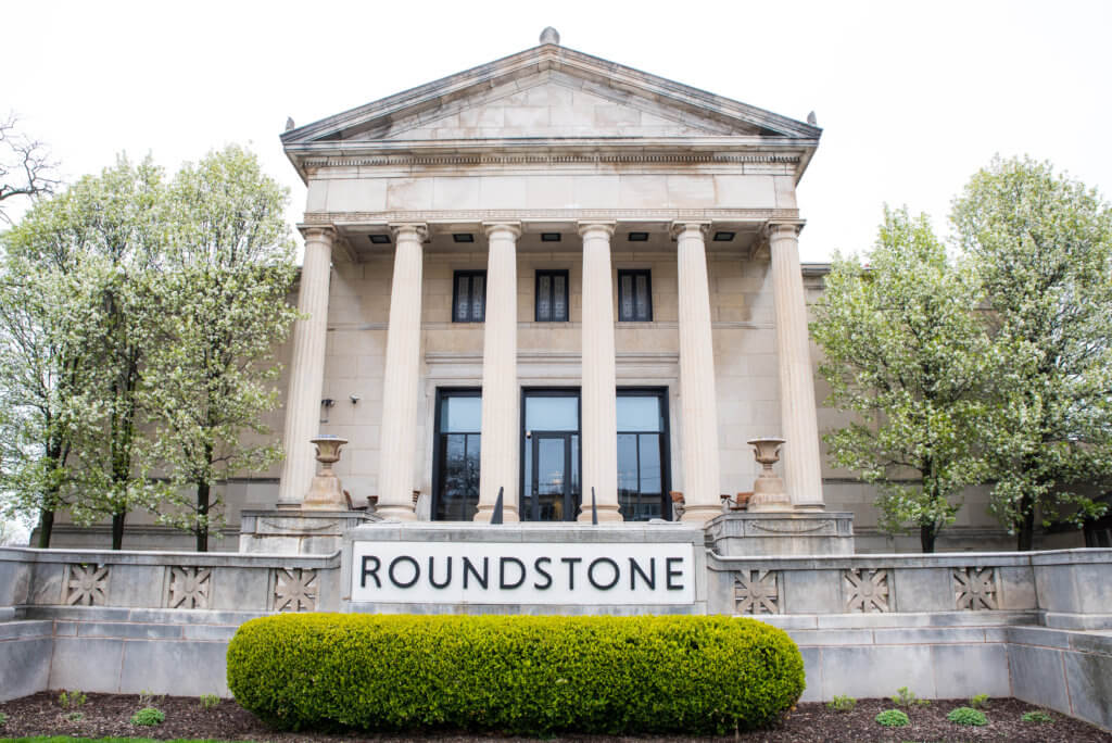 The front of the Roundstone office building