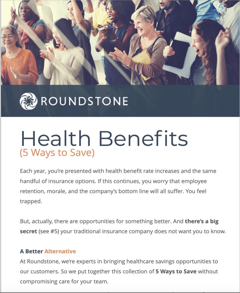 Five ways to save on health benefits