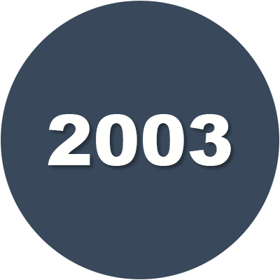 2003 Timeline Icon