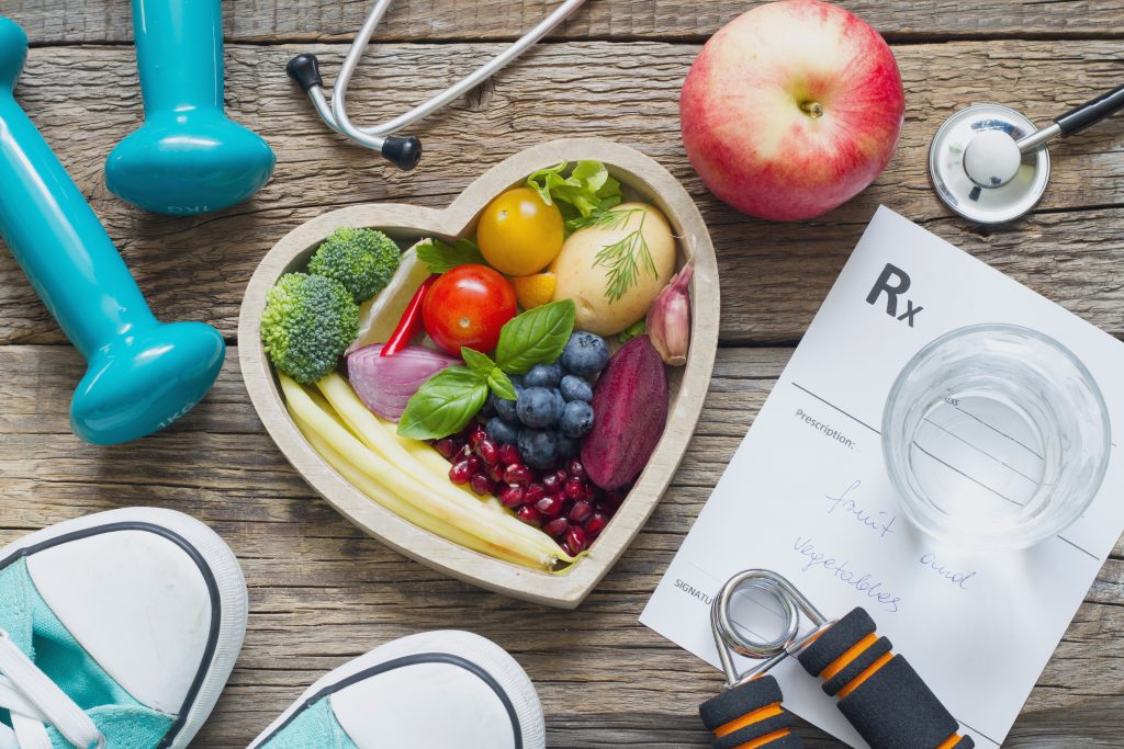 Healthy eating for heart health