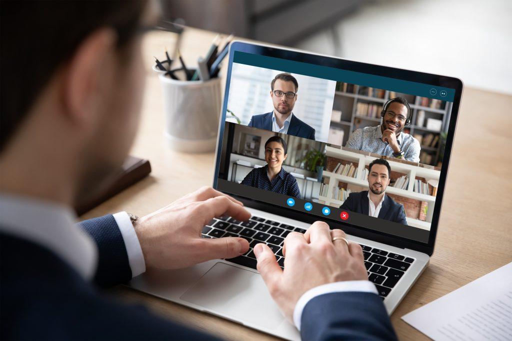 Employee virtual meeting