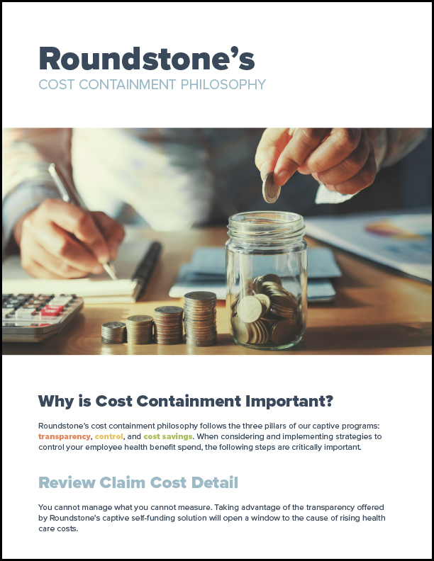 Roundstone's Cost Containment Philosophy_612x792