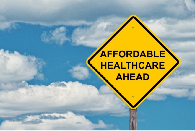 Affordable healthcare ahead